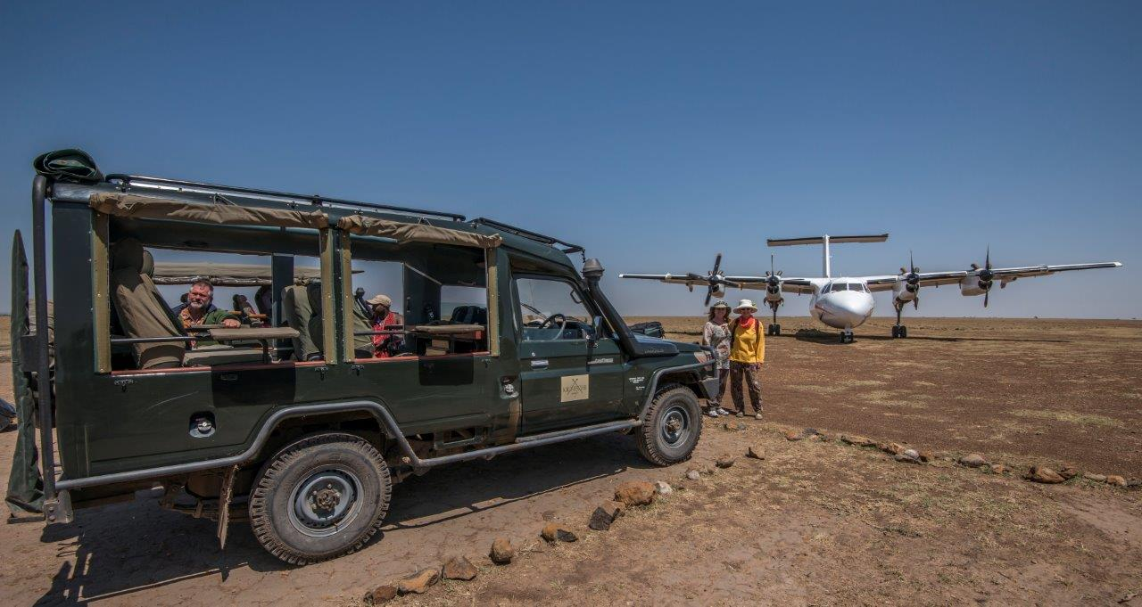 Arriving via charter flight into the Maasai Mara and boarding your game vehicle, excitement mounts as during the transfer to our camp, wildlife encounters are guaranteed.